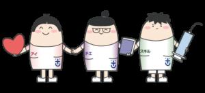 徳島大学病院看護部キャラクター