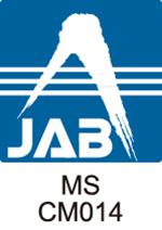 ISO9001の認証ロゴマーク